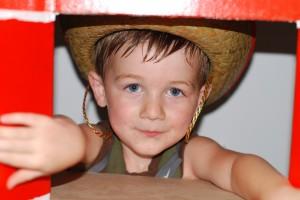 Barrett in the Barn