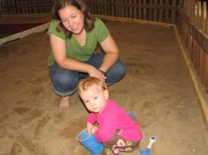 The Giant Sandbox at the Fair