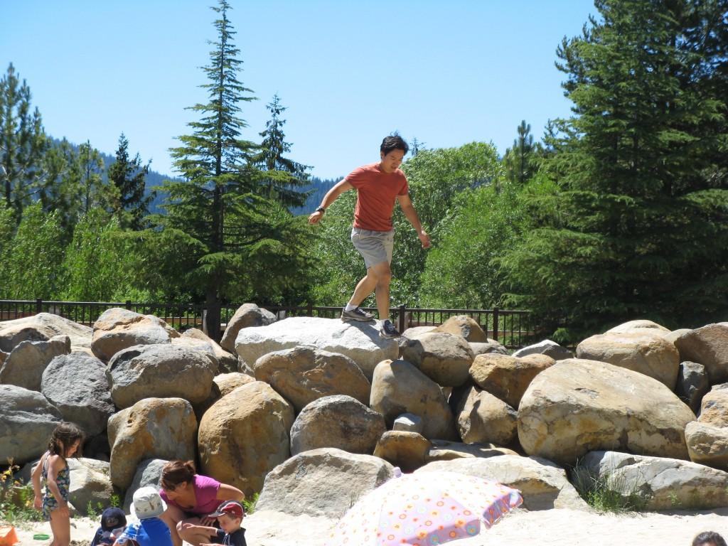 Climb Rocks...