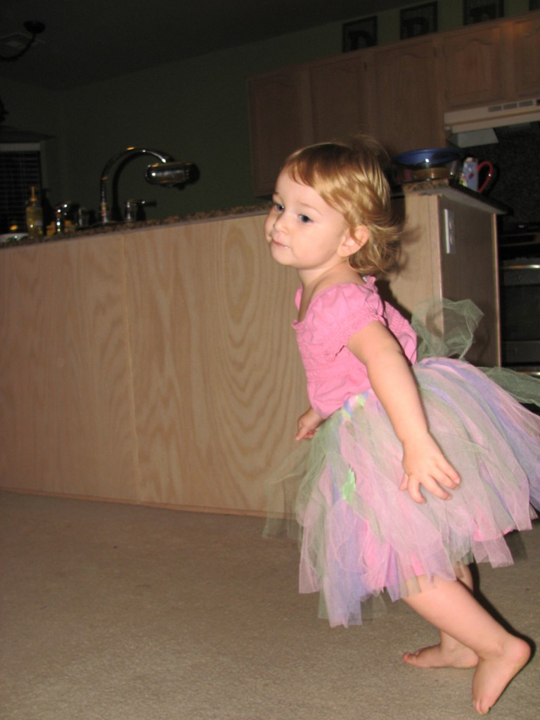 I wear my tutu everywhere!