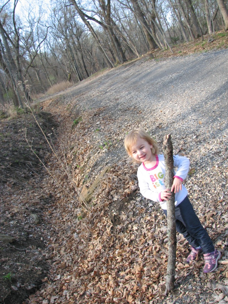 She loves Grandma's Cabin!!!  She keeps asking to go back, today she even tried to rebuckle her carseat so she could go!