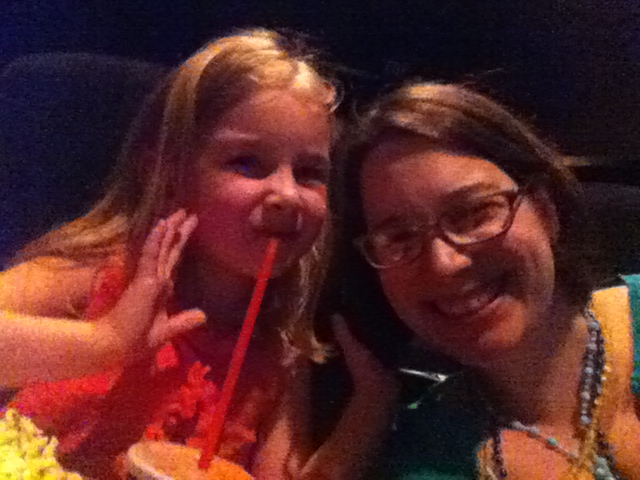 My movie date =)