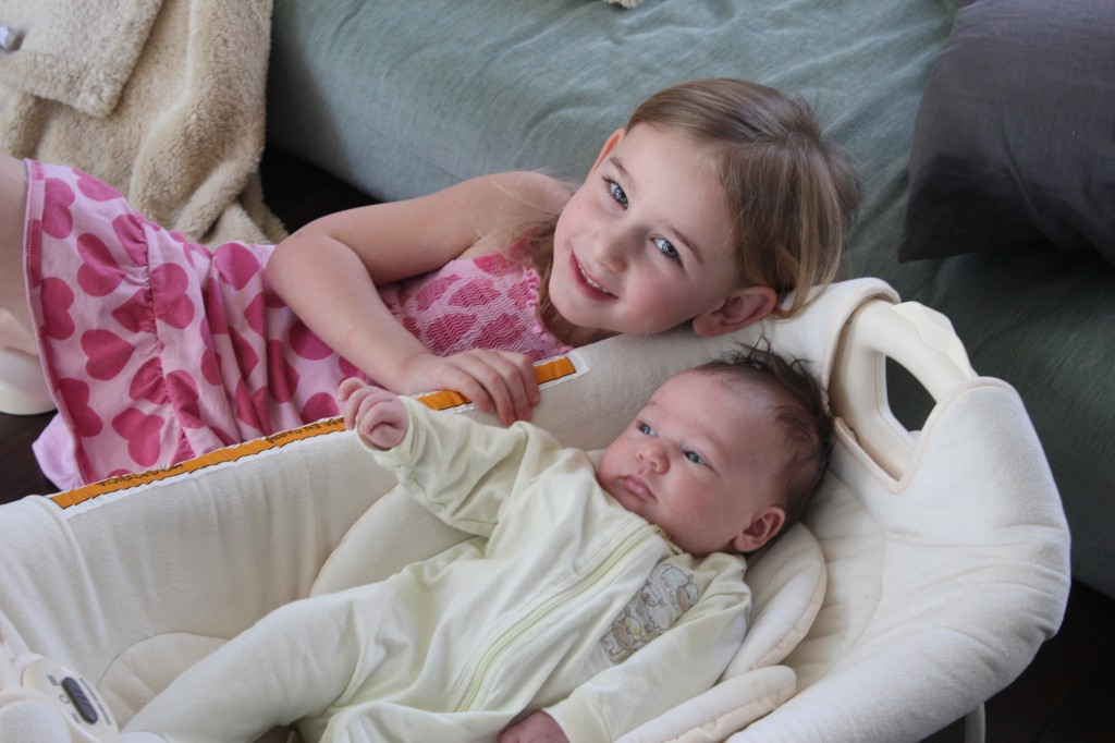 Serenity loves her sister!!!