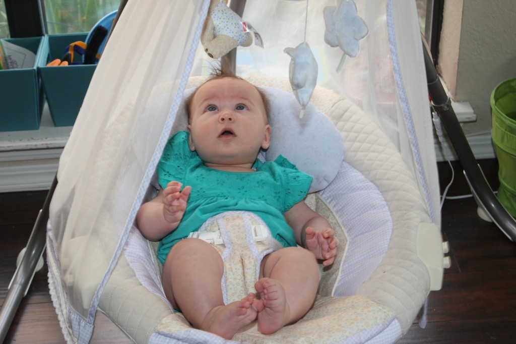 She LOVES the swing =)