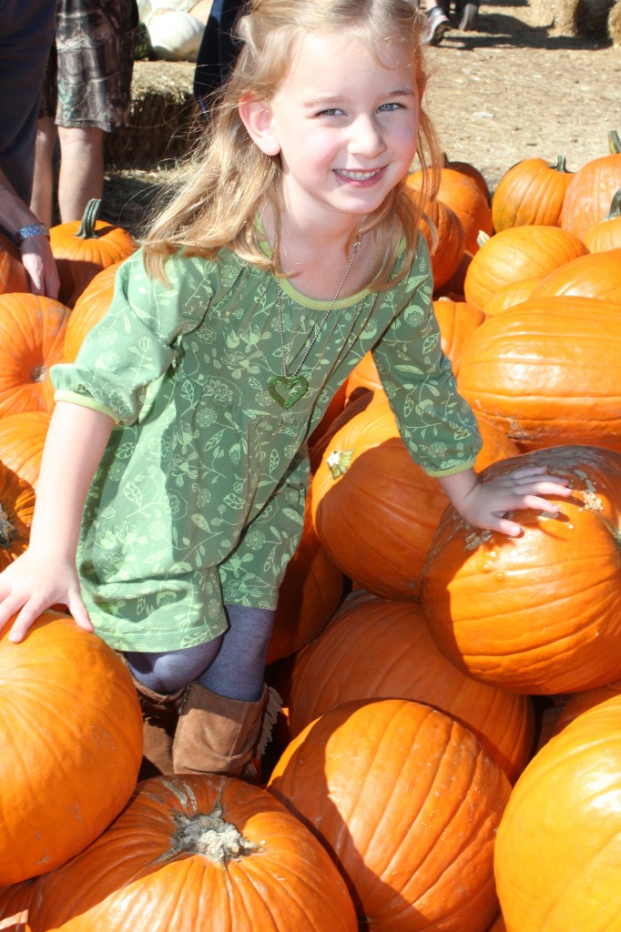 October 2013 on our annual trip to the pumpkin patch