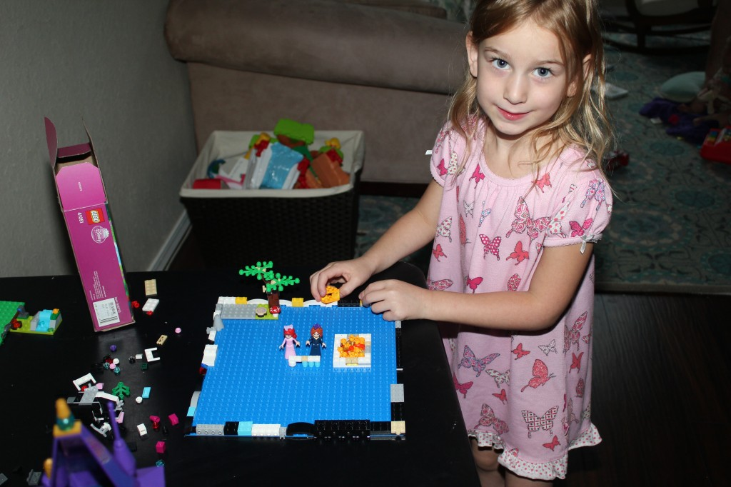 Free-style Legos, I love it!