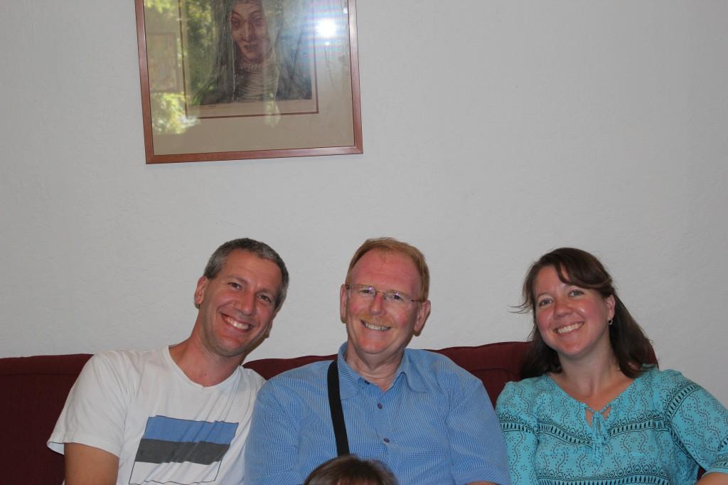 We got to see Alan, Mary and Landon Mello! =)  So fun!
