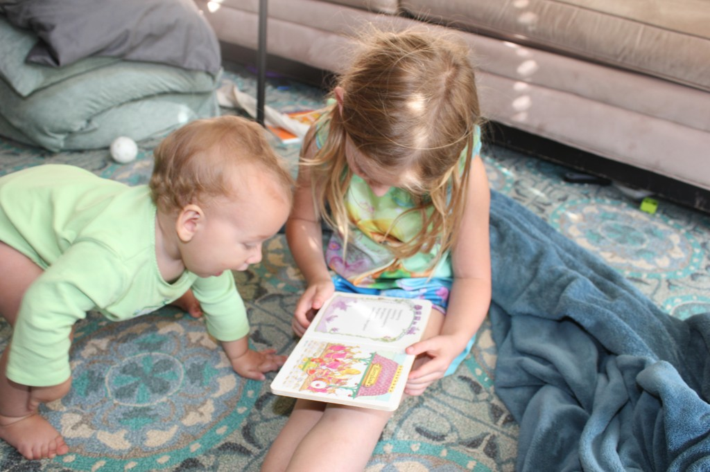 Reading with Serenity =)