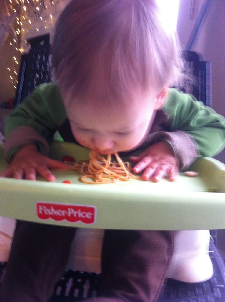 Mmm spaghetti
