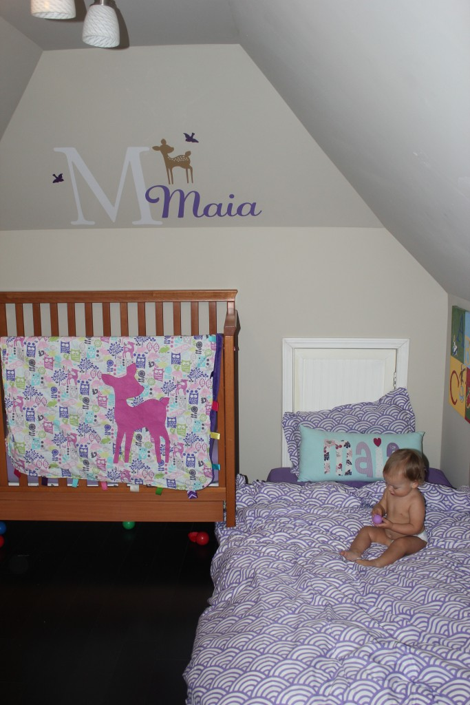 Maia's room is done!  Oh, I've added lanterns since this picture, need to take another I guess