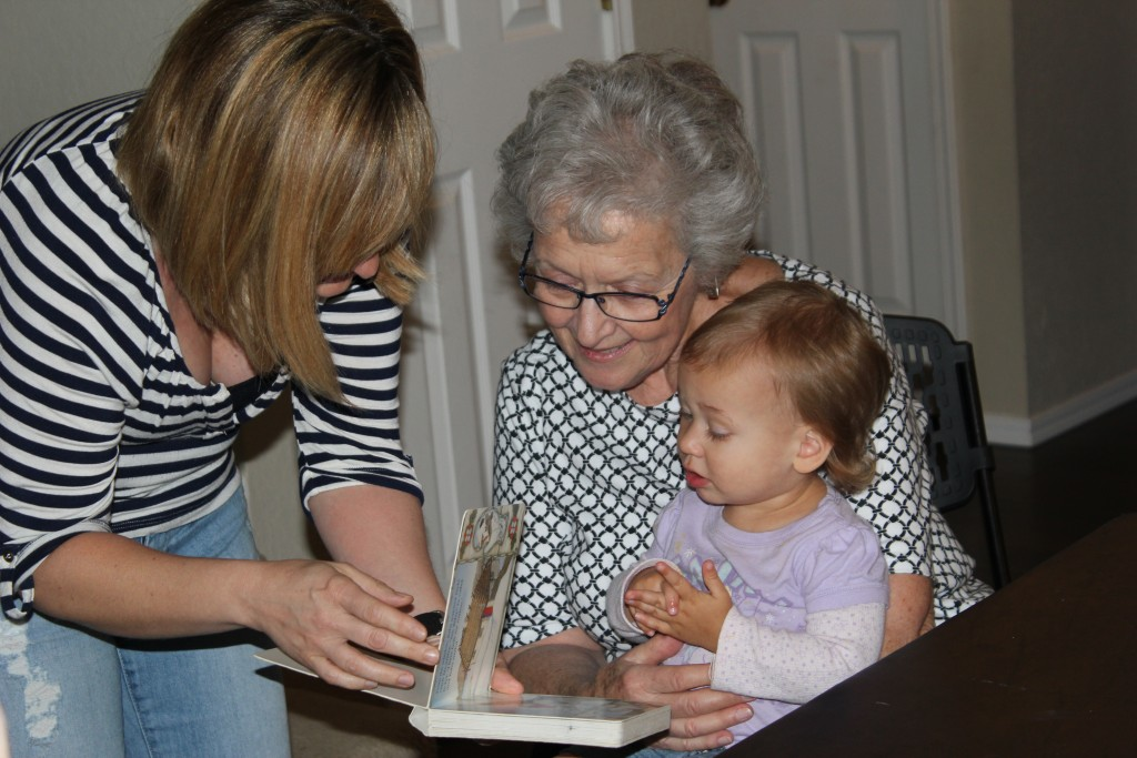 With Aunt Jen and Aunt Jan =)