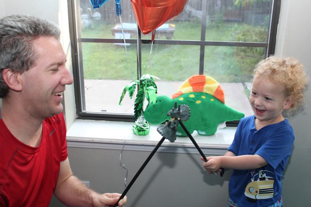 June 2014 at his Dino Birthday