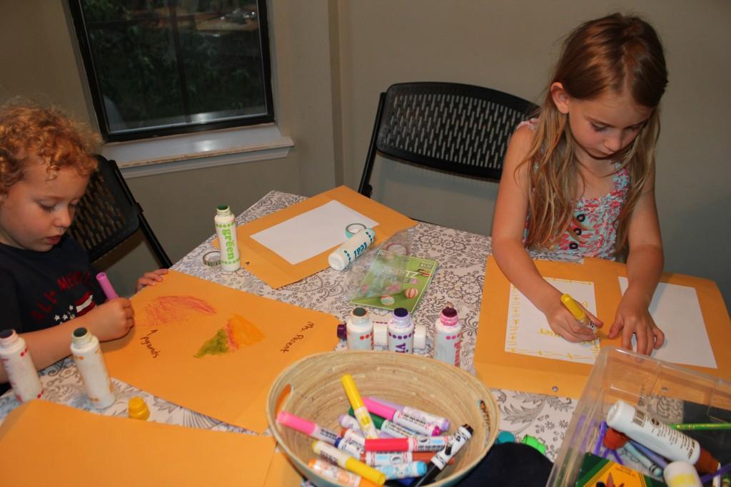Decorating envelopes for teachers =)