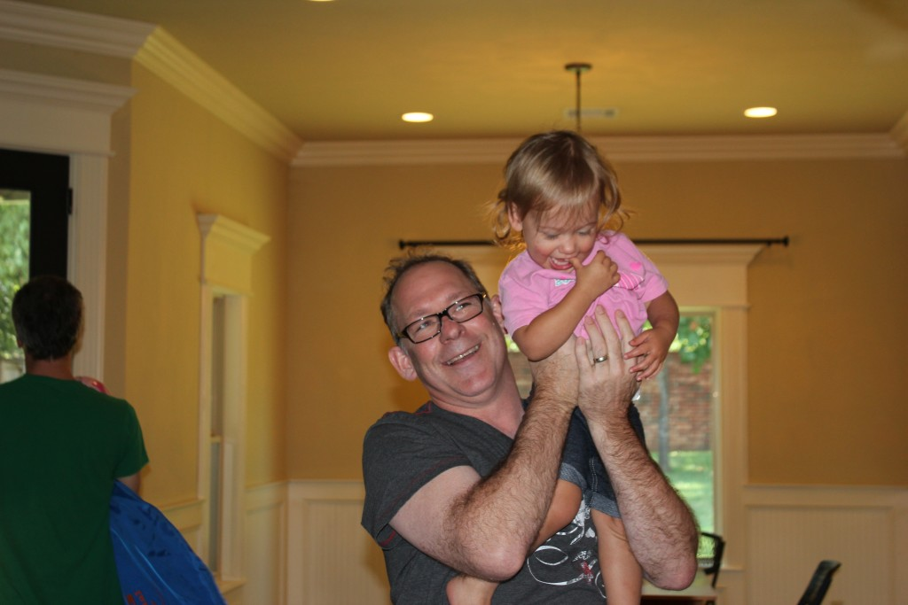 Maia loves Uncle Mike =)