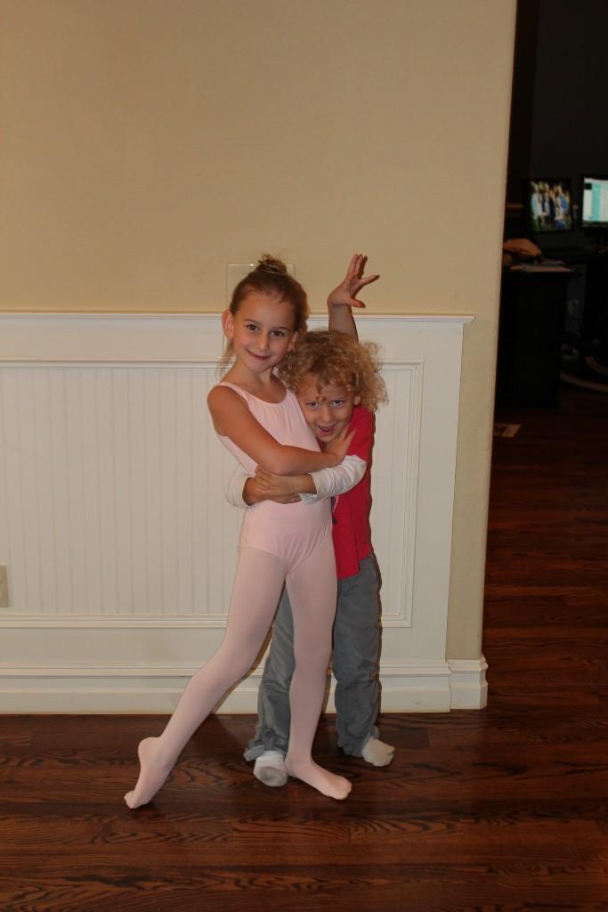 Almost a good ballet bun =)