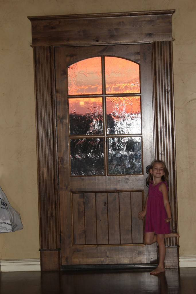 Sunrises through our new front door are one of my favorite things =)