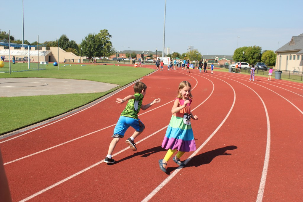 Running with Barrett =)