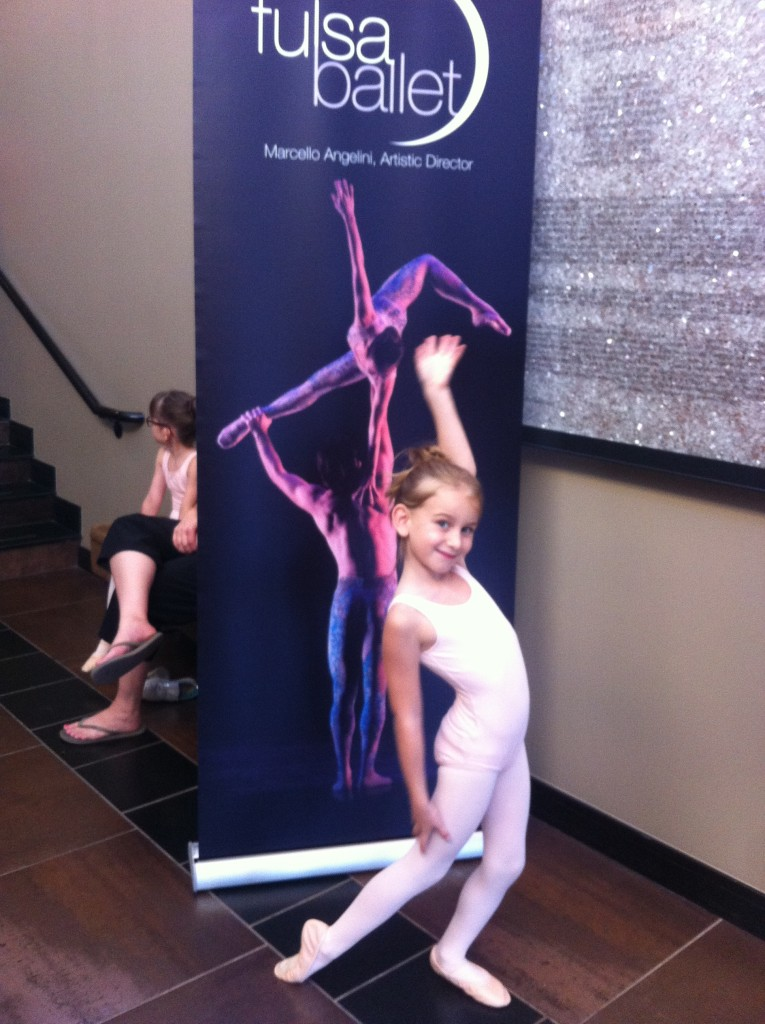 She chose Ballet for her activity this year =)  I think it suits her.  She loves the music and moving gracefully and expressively =)