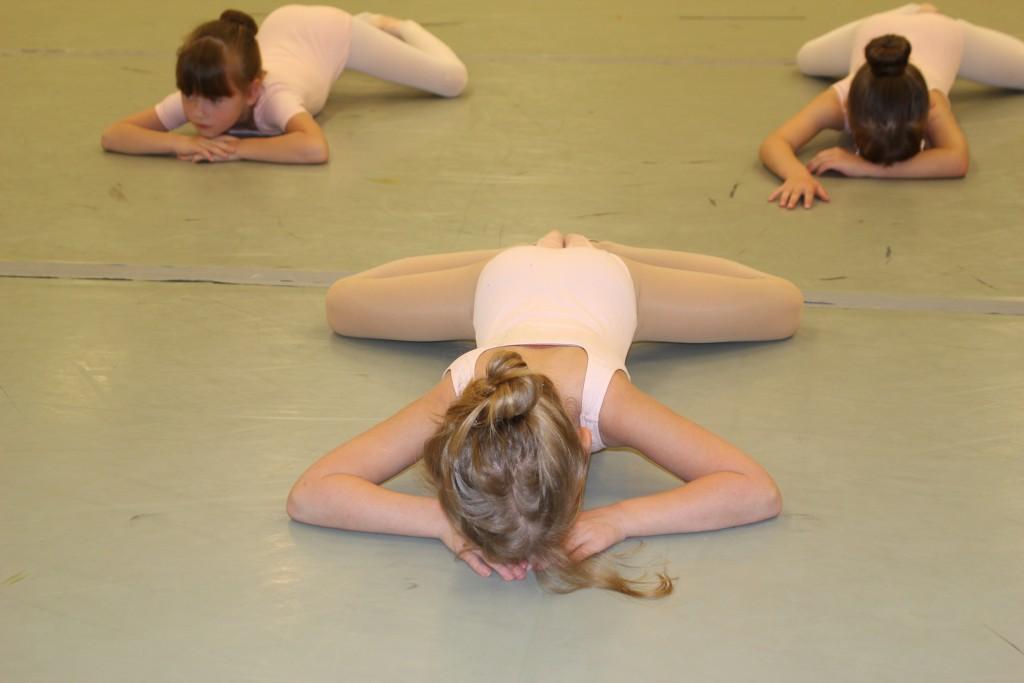 She is still really flexible...