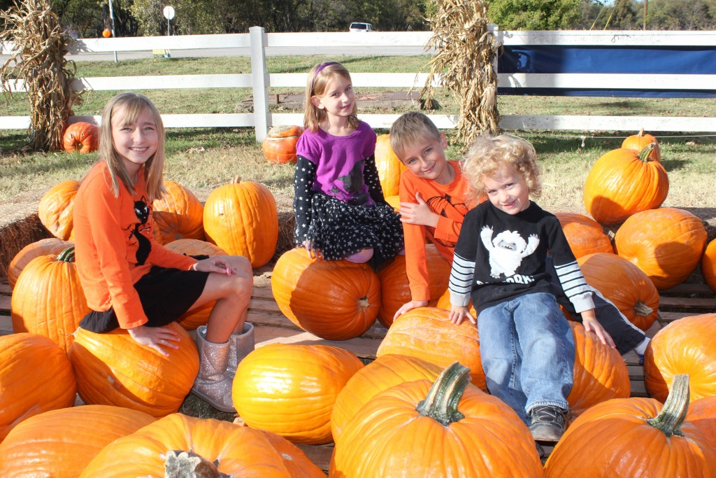 Cousins at the Pumpkin Patch! 7 years now =)