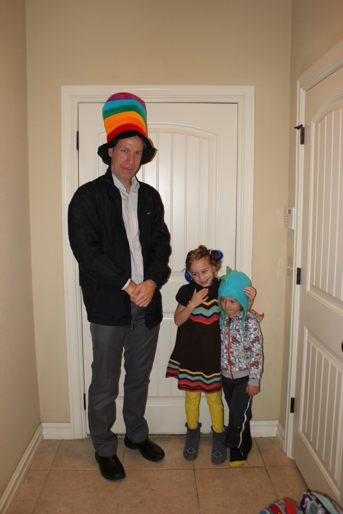 Crazy Hat Day for Book Fair Week =)
