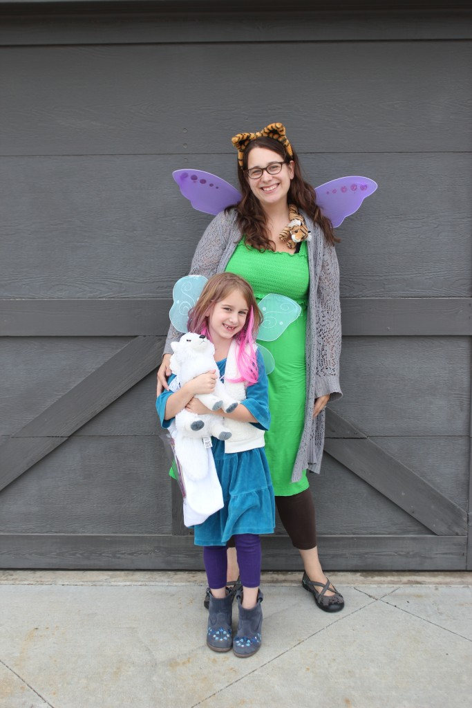 Nora the Arctic Fox and Kitty the Tiger Fairy
