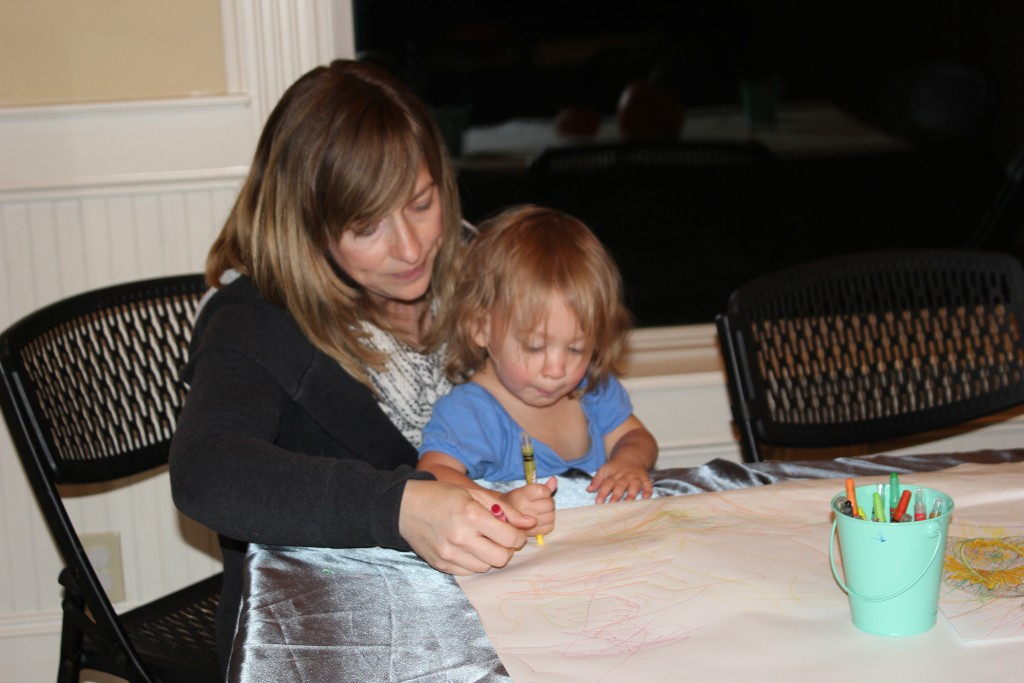 Jen is special, she got to color too =)