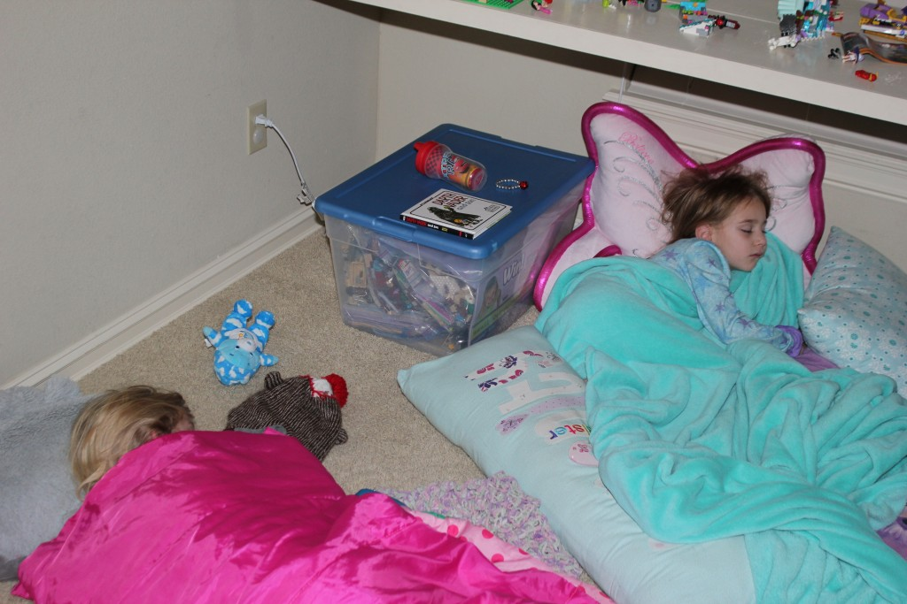 Sleepover before party fun =)  Such a great weekend!