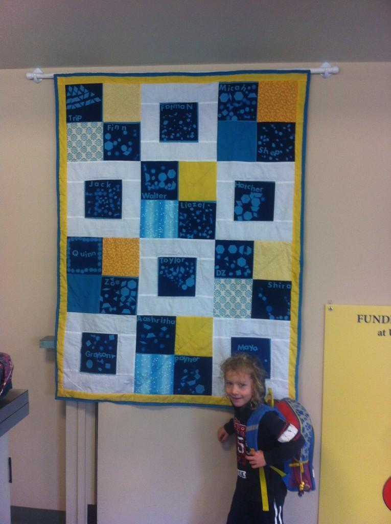 Donovan's class quilt