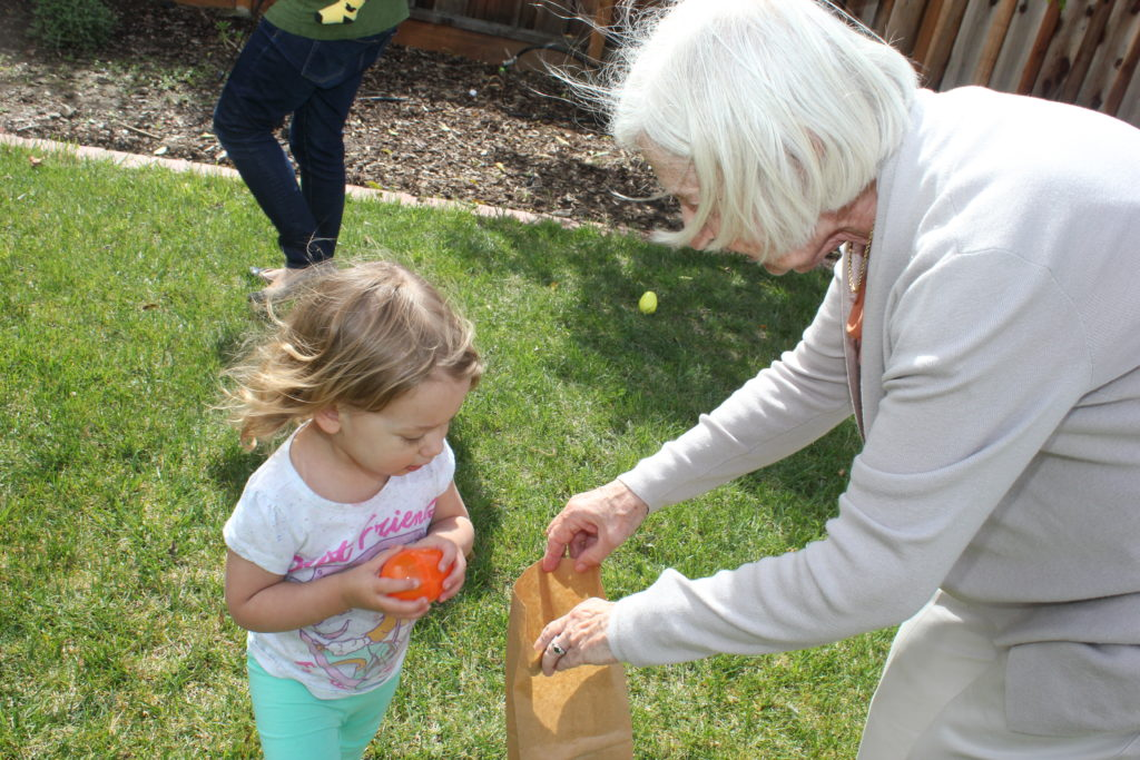 Marilyn organized a little egg hunt and pinata, which were a blast of course!