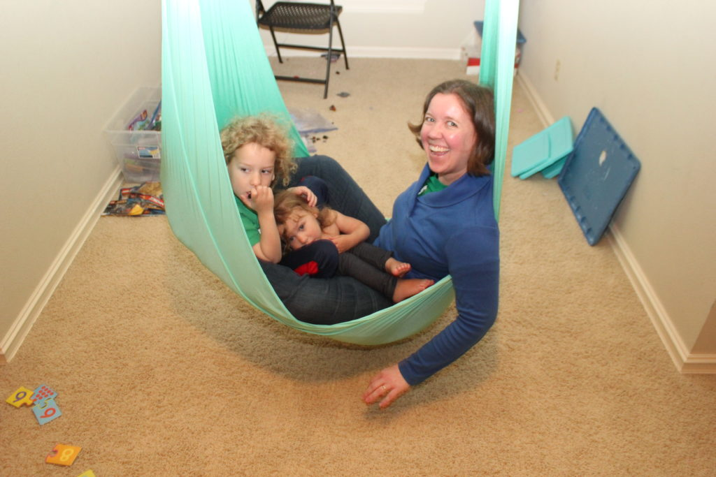Swinging with Aunt Tina!!! We had so much fun on her visit!!!