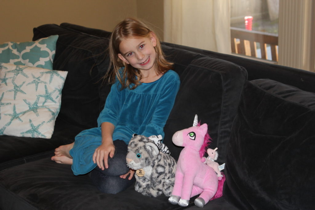 November 2015 (I love snowy with the baby, and her unicorn with baby)