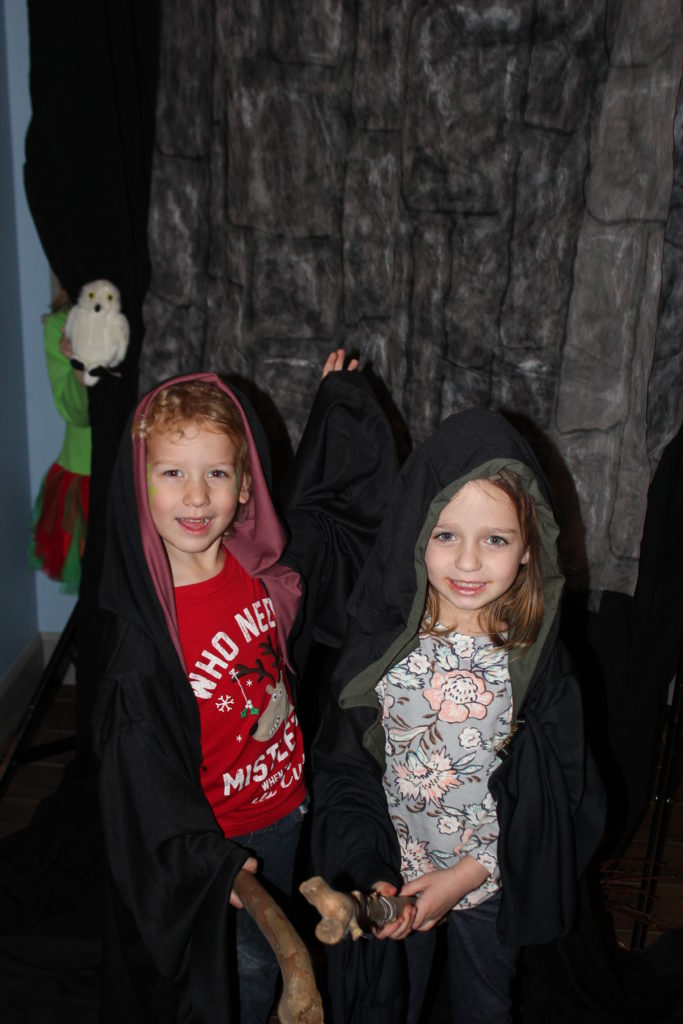 Christmas, Harry Potter photo booth with Braley =)