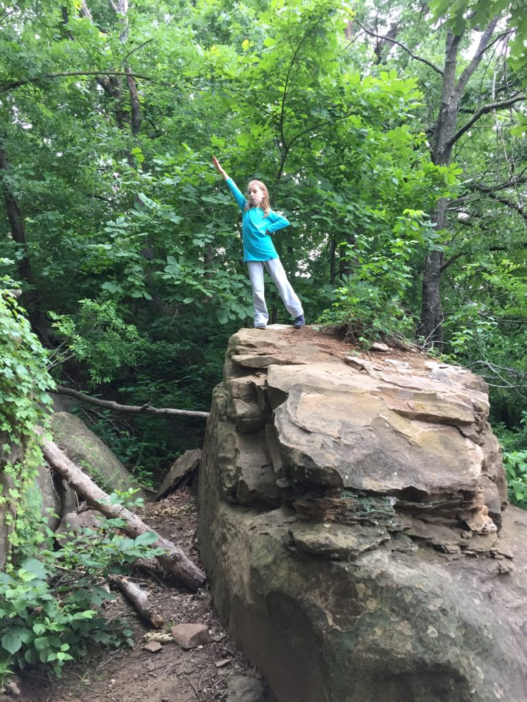 Climbing girl =)