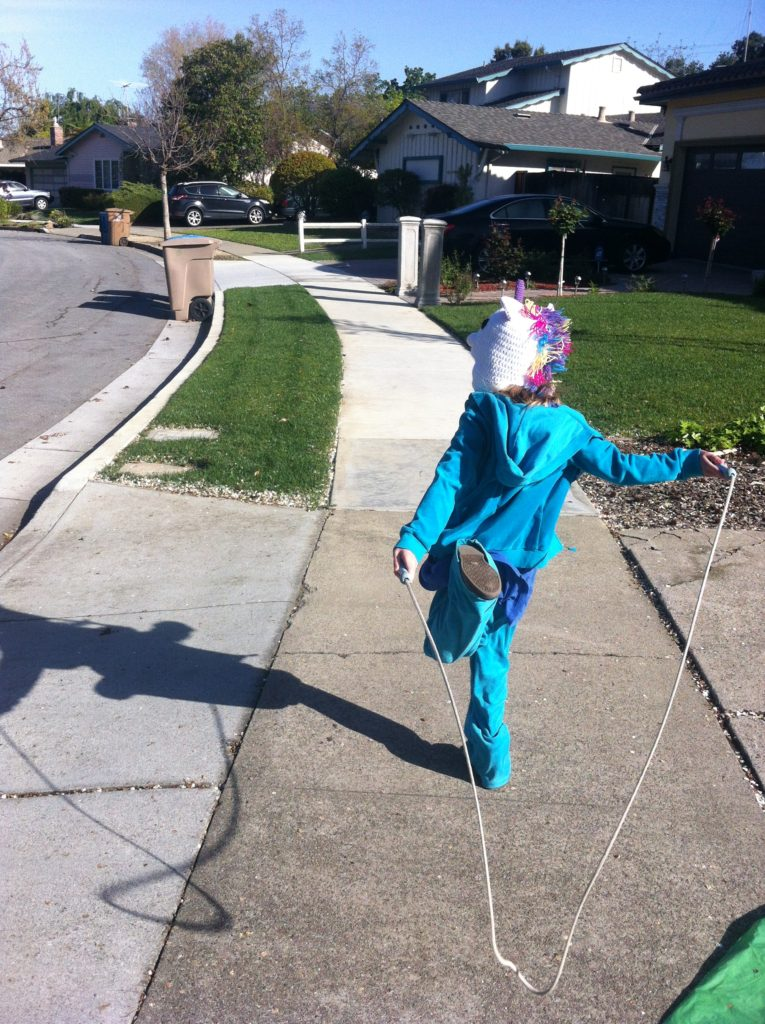 Jumping rope was a big favorite this year