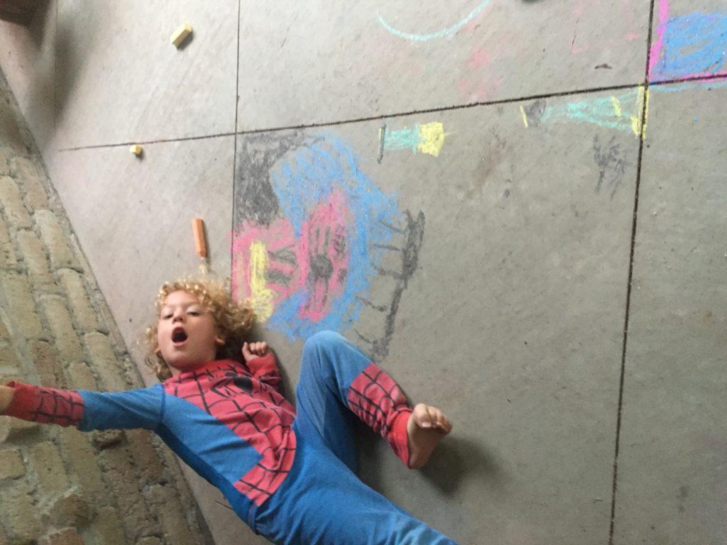 Sidewalk Chalk art =)