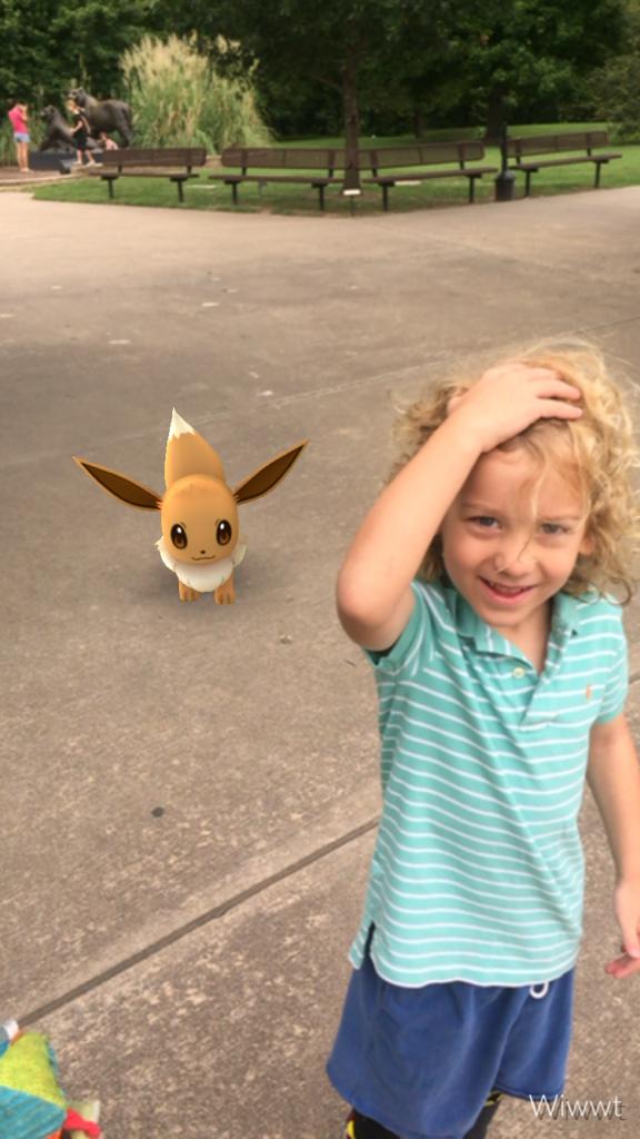 DZ found an Eevee!